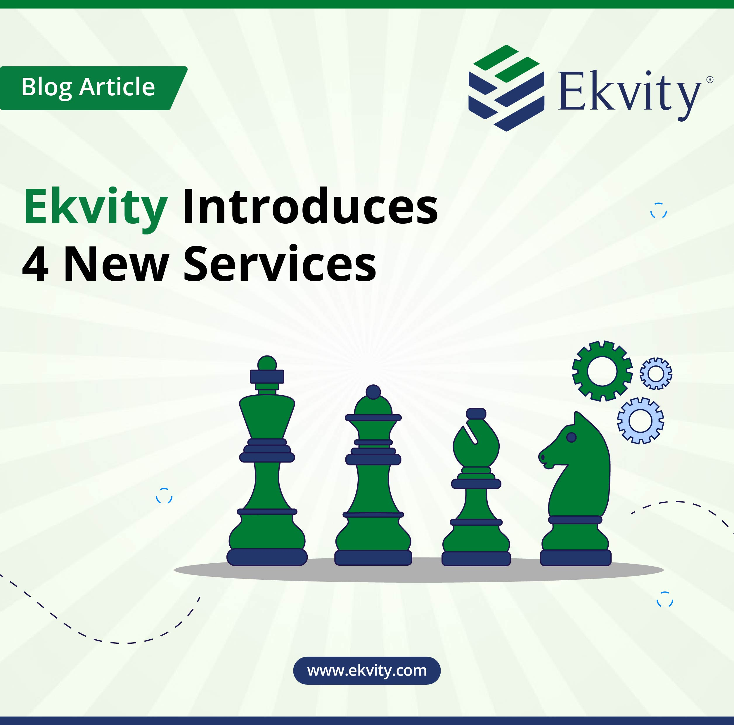 Ekvity Introduces 4 New Services